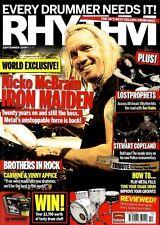 RHYTHM DRUMMER MAGAZINE +CD 2006 SEP NICKO MCBRAIN, LOST PROPHETS, STEWART COPEL
