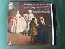 JEAN-CHRETIEN BACH concertos MOZART K 107 / JEAN-BERNARD POMMIER LP CVA 895
