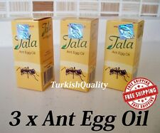 3x New Original Tala Ant Egg Oil - Permanent Hair Removal, Reducing, Natural Oil