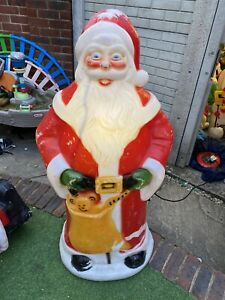 4ft Santa Christmas Blow Mold