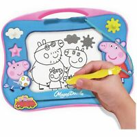 NEW Peppa Pig Magna Doodle Lightweight Magnetic Drawing Tablet Draw And Erase_UK