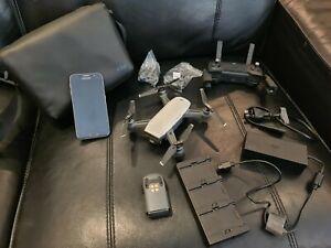 DJI Spark Mini Drone Combo + Samsung Galaxy S6 phone