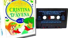 MC Le Più Belle Canzoni di CRISTINA D'AVENA omaggio Sapone Perlana