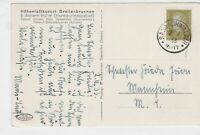 germany 1933 stamps card  ref 18896