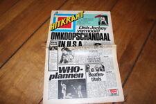 HITKRANT # 13 1977 BRYAN FERRY ROXY MUSIC SEX PISTOLS PUNK QUEEN ELO