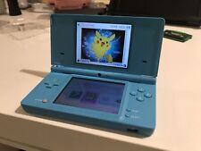 Nintendo DSi Light Blue W/ ScribbleNauts And Mario Luigi's Bowser's Inside Stroy