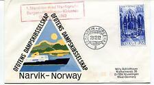 1982 Narvik Norway Ofotens Dampskibsselskap Kirkenes Polar Antarctic Cover