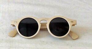 Josephine Sunglasses  Beige  1930s 1940s Vintage style  UV400