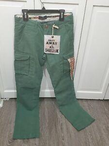 Scotch Shrunk boys regular fit cargo pants size 12 waist