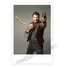 Chris Pratt aus Guardians of ... Autogrammfotokarte  laminiert [AK2]