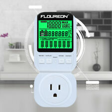Smart Electricity Usage Monitor Power Meter Plug Energy Consumption Analyzer LCD