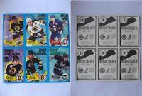 1996-97 Panini Stickers Neely Oates May McEachern Stumpel Sanderson uncut sheet!