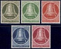BERLIN 1951, MiNr. 82-86, tadellos postfrischer Kabinettsatz, Mi. 120,-