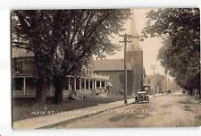 jwd16d: OLD CAR ON MAIN ST DENTON MD, NOKO circa 1907-20's RPPC/postcard