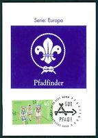 BRD MK 2007 EUROPA CEPT PFADFINDER PRIVATE MAXIMUMKARTE SCOUTS MAXI CARD MC CM