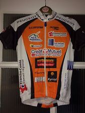 New Fashion Shimano PEUGEOT Homme Full Zip Maillot De Cyclisme taille XS excellent