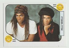1980s Spanish Pop Star Trade Playing Card Gonna Miss You Pop Group Milli Vanilli