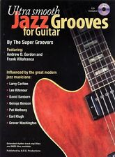 Ultra Smooth Jazz Grooves Para Guitarra Música Book & Cd