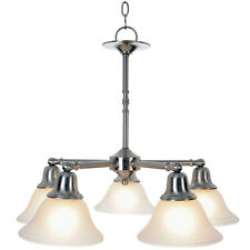 Monument Lighting 617259 Sonoma 5 Light Hanging Chandelier in Brushed Nickel