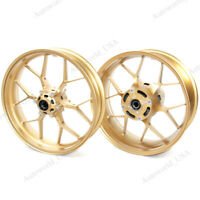 Front & Rear Wheel Rims For Honda CBR1000RR 2008-2016 CBR 1000RR CBR-1000RR Gold