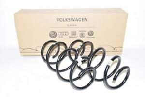 VW Golf 7 1K 12-15 Feder VL + VR Vorne Links Rechts 1x Grün 1x Weiss NEU