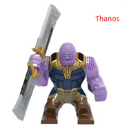 RARE * Marvel Avengers: Endgame Super Heroes Thanos Figures Building Toys Lego