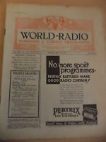 OLD VINTAGE WORLD RADIO TIMES 1930s MAGAZINE 24 july 1931 BBC foreign programme