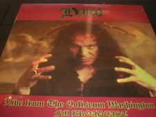 DIO Live From The Coliseum Washington  vinyl 2 LP unplayed  SEALED