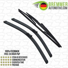 Volvo V50 Estate (2006 to 2010) Wiper Blade Complete Set X3 Front Rear