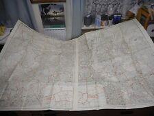 100% ORIGINAL LARGE LONDON FOLDING MAPS X2 BY KELLYS  C1969 VGC