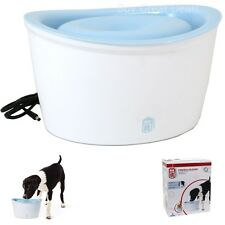 Dogit Design Pet Drink Fountain Dog Cat Water Waterer Bowl Dish Fresh and Clean