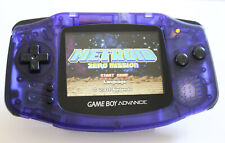 Game Boy Advance IPS V2 Console - Clear Midnight Blue (+ Adjustable Brightness)
