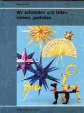 Wir schneiden und falten, kleben, gestalten  - Enderli, René - Bastelbuch - NEU