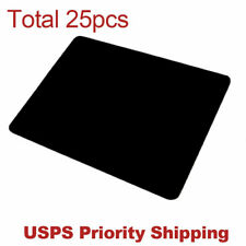 lot 25pcs Black Gaming Mouse Pad Large Size Desk Keyboard Mat 330MM X 205MM