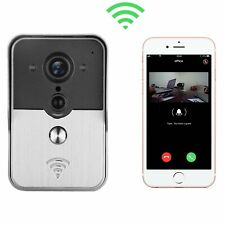 Wifi Visual Doorbell Phone Remote Intercom Network Household Villa,Support Wirel