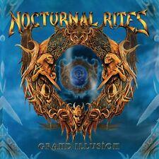 NOCTURNAL RITES - Grand Illusion (NEW*LIM.400*BLACK VINYL*SWE POWER METAL)