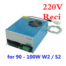 220V Reci Power Supply / Power Source for 90 - 100W W2 / S2 CO2 Laser Tub OEM