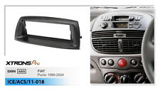 Xtrons Single Din CD Radio Facia Facia Panel Fitting For FIAT Punto 1999-2004