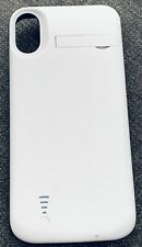 External Battery Case Iphone X White
