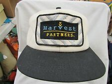 trucker hat baseball Harvest Partners patch Insulated snapback cool