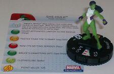 SHE-HULK #204 The Incredible Hulk HeroClix Gravity Feed