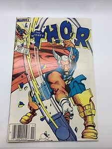 1983 Marvel Comics The Mighty Thor #337 1st Beta Ray Bill Newsstand Edition