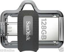 128GB SANDISK ULTRA DUAL USB 3.0 OTG PEN DRIVE (SDDD3-128G-GAM46)*