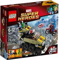 NEW  LEGO Marvel Super Heroes 76017 Avengers Assemble  Captain America vs. Hydra