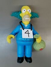 Playmates The Simpsons WOS Busted Krusty The Clown Loose action figure