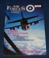 AIR FORCES INTERNATIONAL MAGAZINE JULY 1989 - AERMACCHI MB 326
