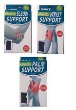 Elastic support brace for Men & Women - Choice of - wrist - elbow - palm - Each