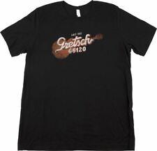 More details for gretsch® g6120 t-shirt, black