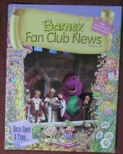 1996 Barney the Purple Dinosaur Fan Club News Magazine-#3-Extremely Rare!