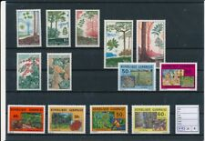 D140402 Gabon Nice selection of MNH stamps